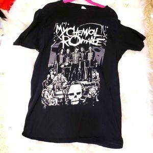 My Chemical Romance Black Parade Band T Shirt M